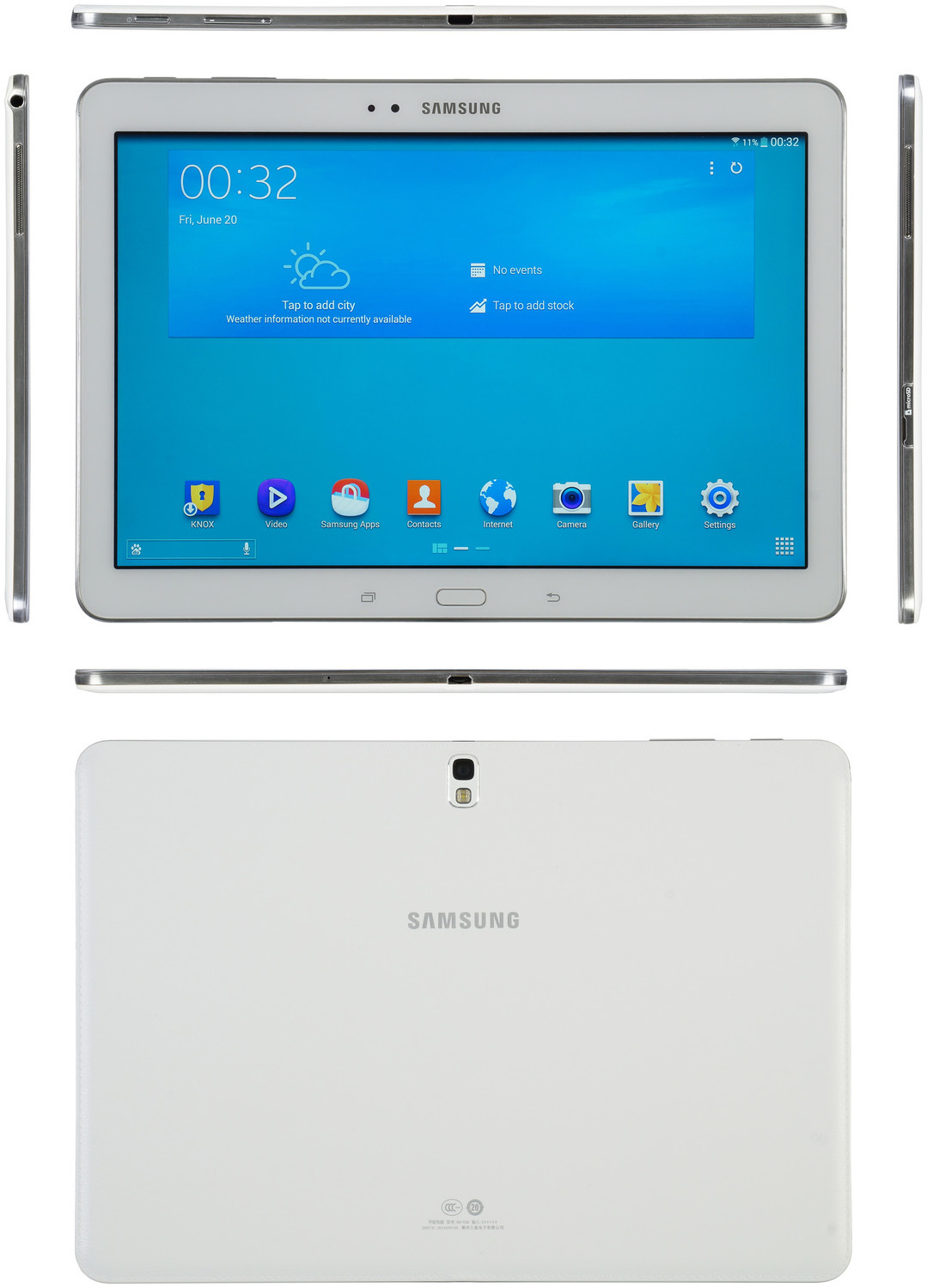 Samsung Galaxy Tab Pro 10.1 SM-T520 16GB - Specs and Price - Phonegg