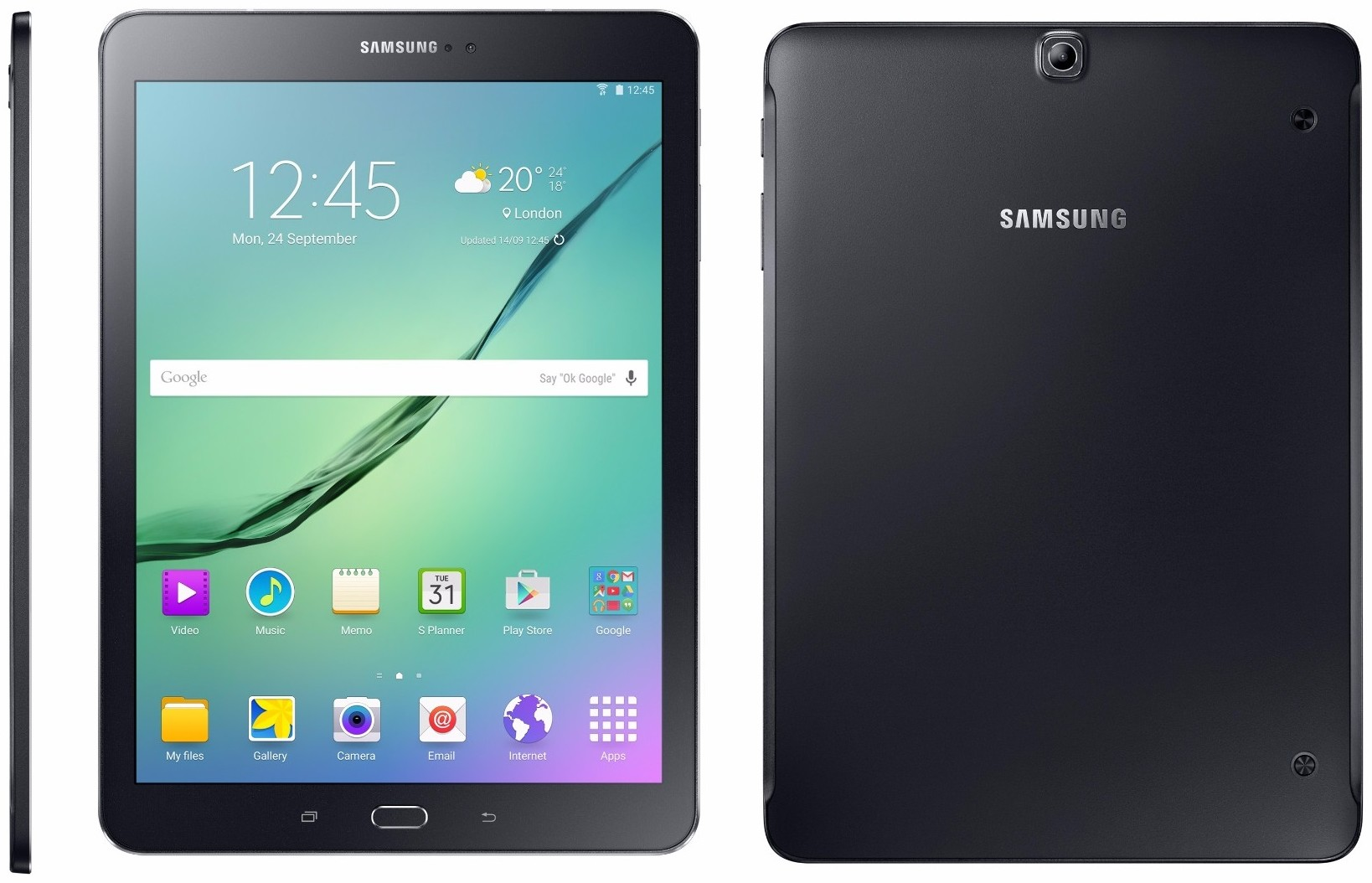 Built for ultra-fast performance, the thin and lightweight Samsung Galaxy Tab S2 features a brilliant