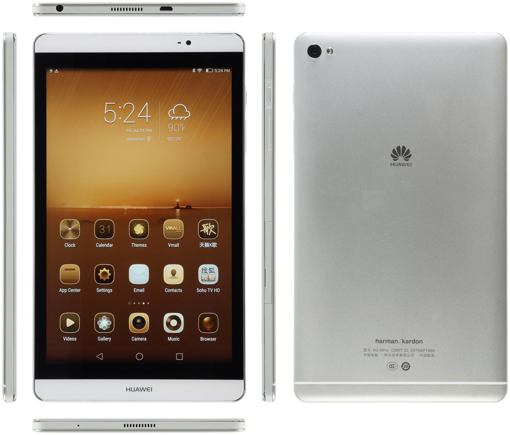 Huawei MediaPad M2-802L 4G 32GB - Specs and Price